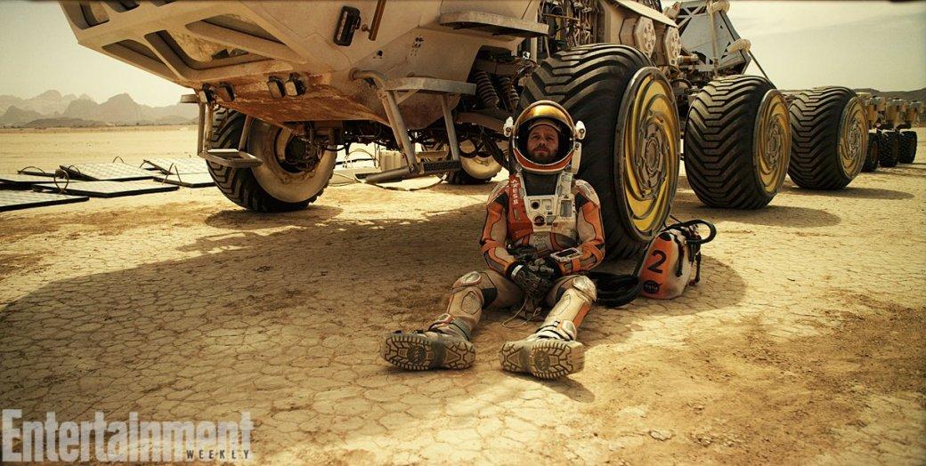 Первые кадры «Марсианина» Ридли Скотта уже порождают мемы - Изображение 7