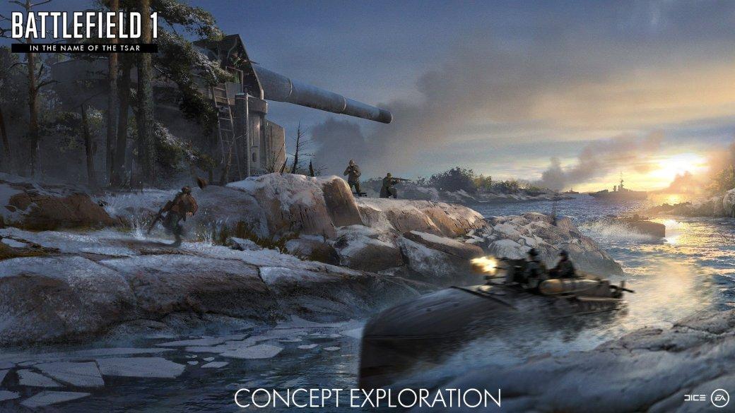 Представлен тизер дополнения для Battlefield 1 «Воимя царя»