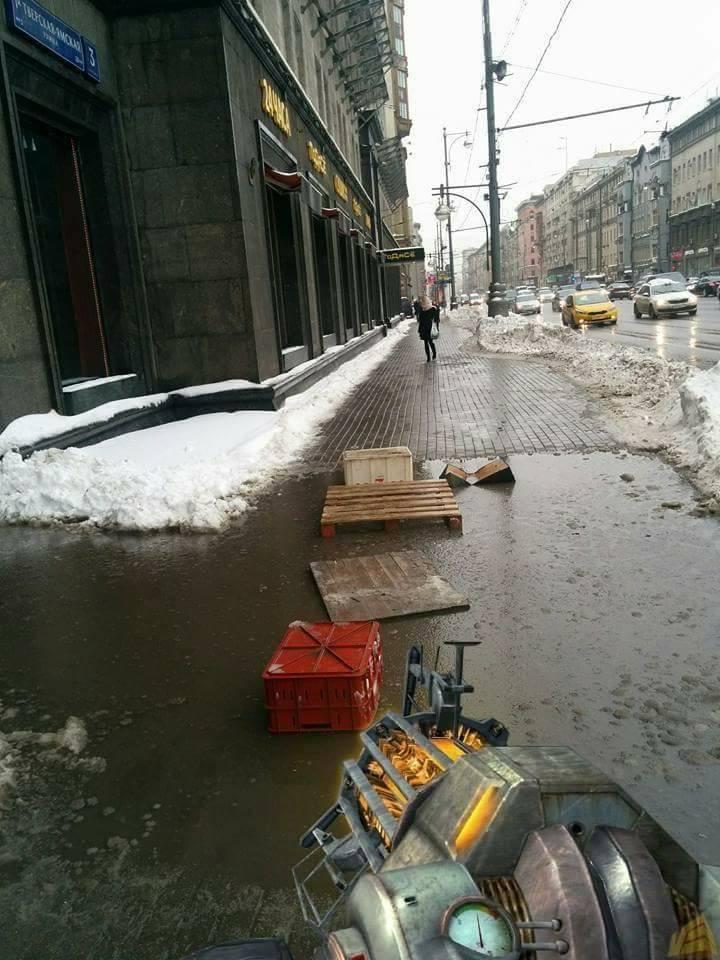 Зимой Москва становится филиалом City-17. Незабудьте гравипушку! - Изображение 1