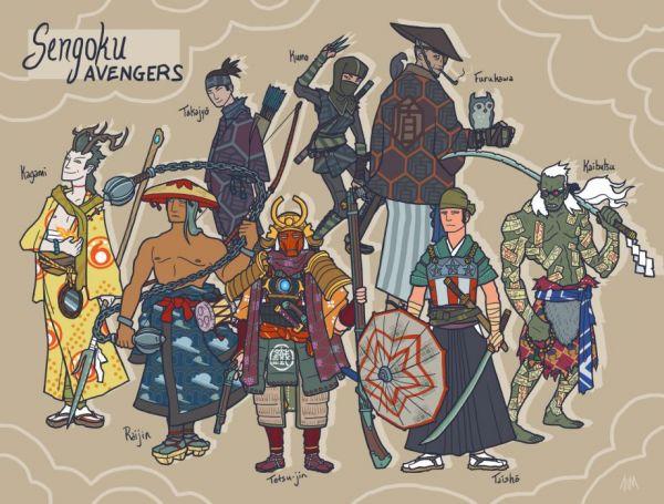 Галерея вариаций: Мстители-женщины, Мстители-дети... - Изображение 125