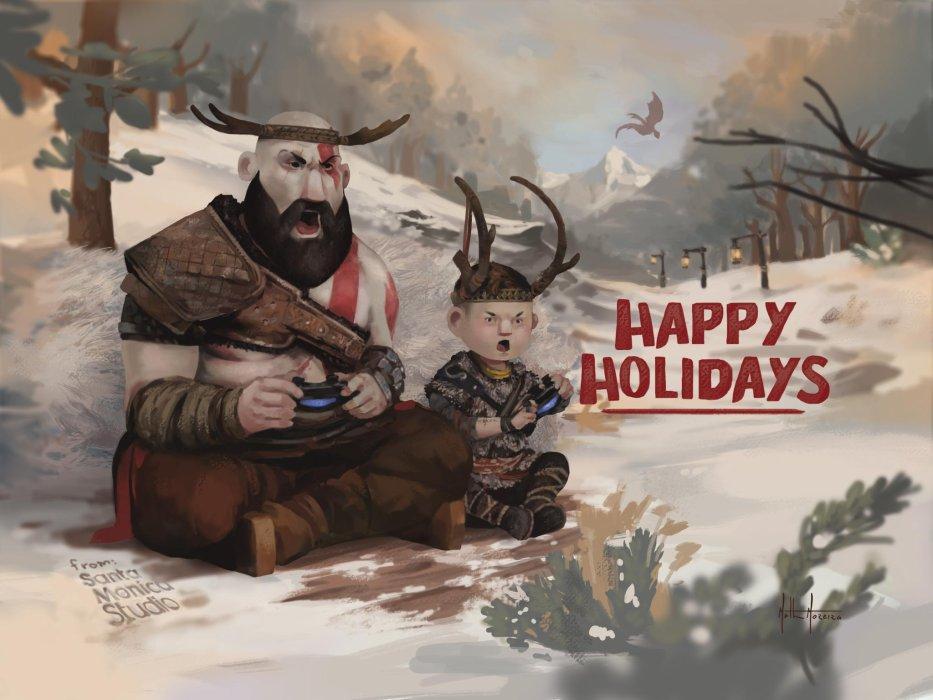 С праздниками! Разработчики поздравляют с Новым годом и Рождеством - Изображение 1