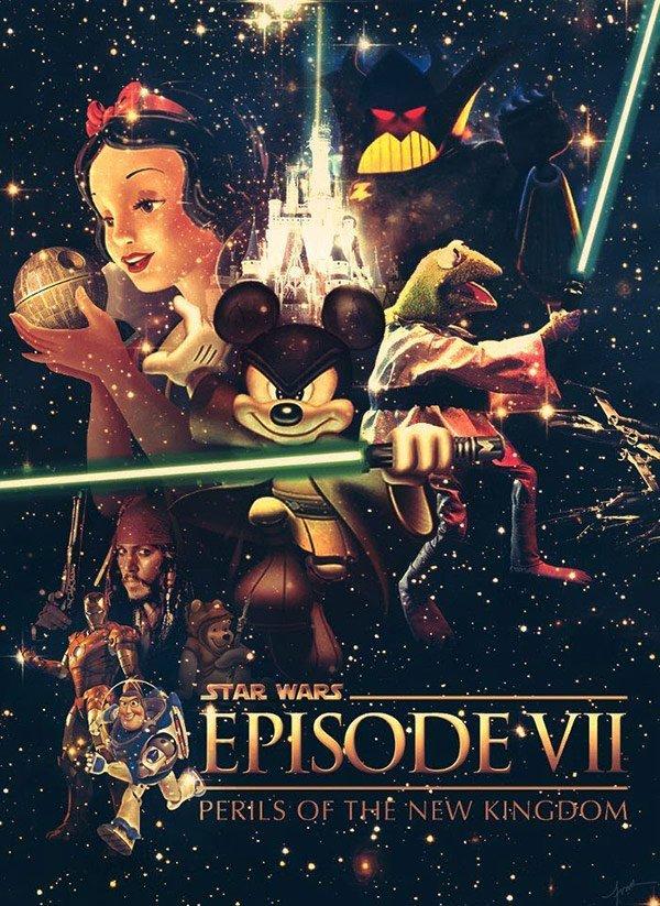 Фанатские постеры Star Wars: Episode VII - Изображение 39