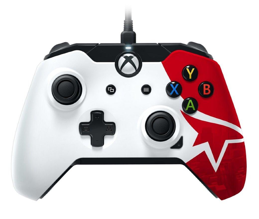 У геймпада Xbox One в стиле Mirror's Edge есть дополнительная кнопка - Изображение 1