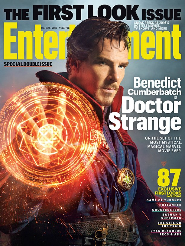 Первое фото Бенедикта Камбербэтча в образе Доктора Стрэнджа - Изображение 1