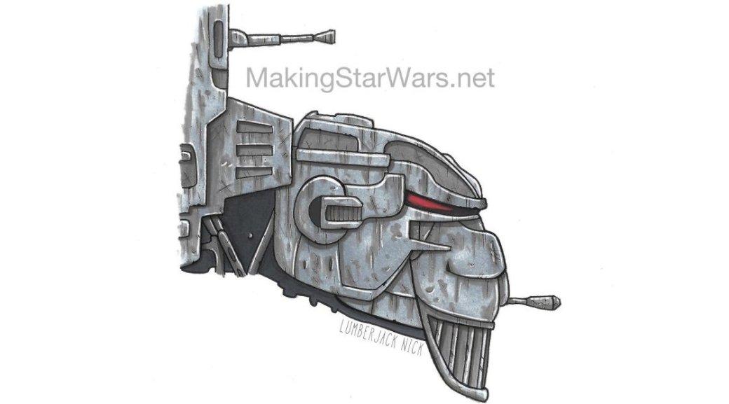 В8 эпизоде «Звездных войн» появятся новые шагающие супер-роботы - Изображение 3