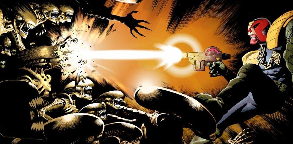 Бэтмен против Чужого?! Безумные комикс-кроссоверы сксеноморфами. - Изображение 1