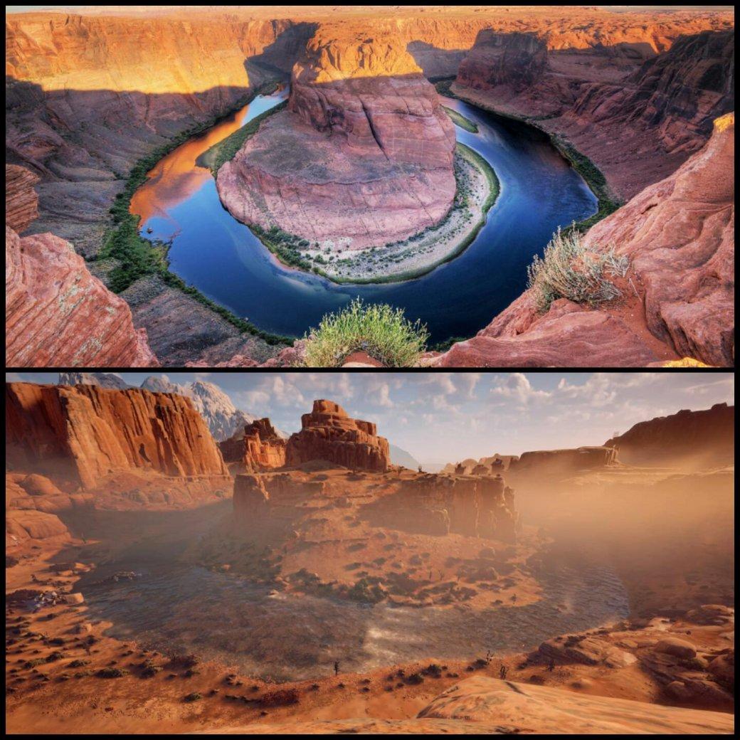 Реальные места, скоторых срисованы пейзажи Horizon Zero Dawn - Изображение 1