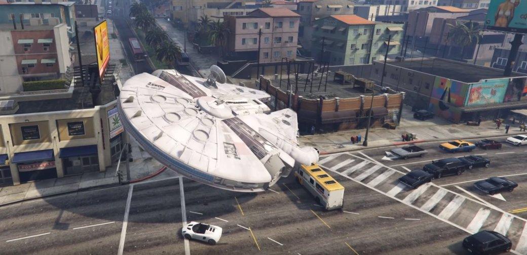 «Пробуждение модов»: звездолеты в GTA 5 и не только - Изображение 1