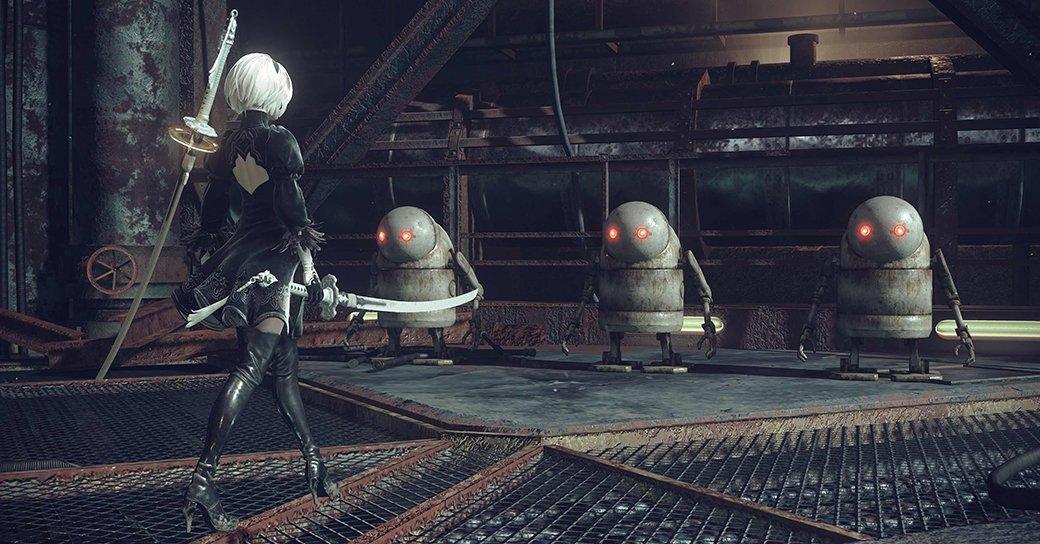 Рецензия на NieR: Automata. Обзор игры - Изображение 4