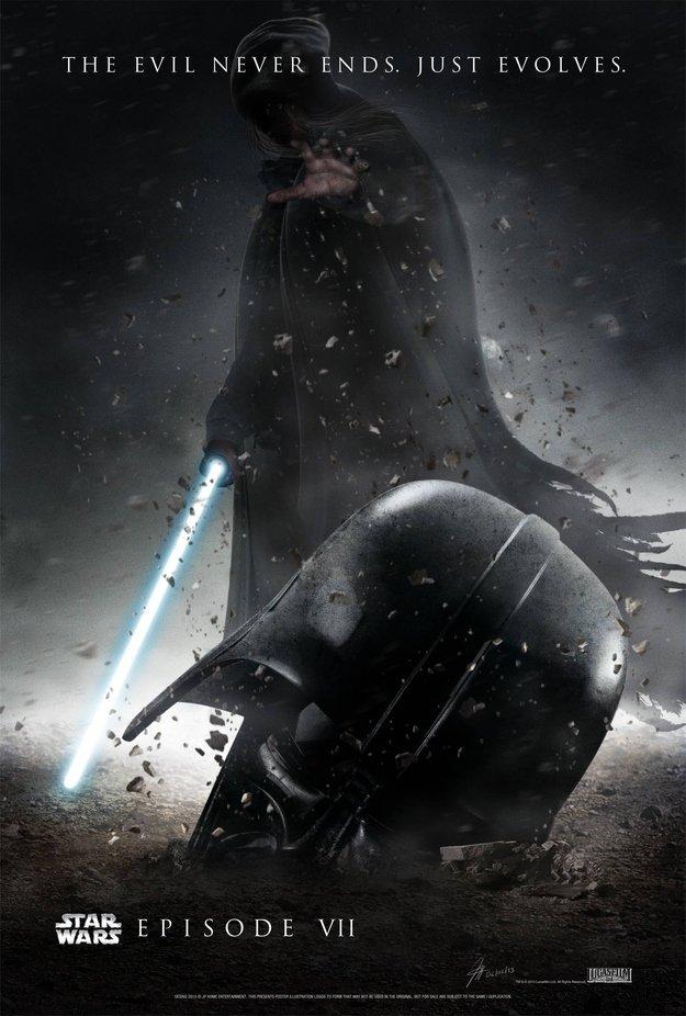 Фанатские постеры Star Wars: Episode VII - Изображение 8