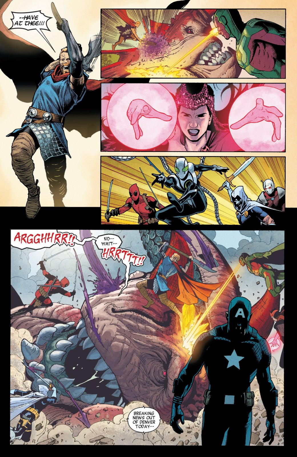 Пропаганда и концлагеря. Во что Гидра и Капитан Америка превратили США. - Изображение 17