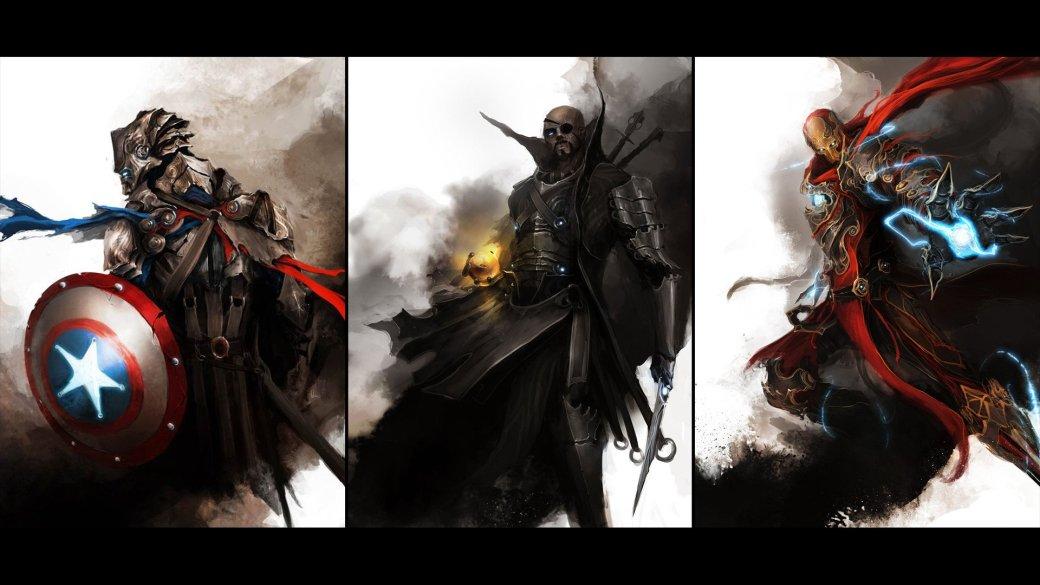 Галерея вариаций: Мстители-женщины, Мстители-дети... - Изображение 160