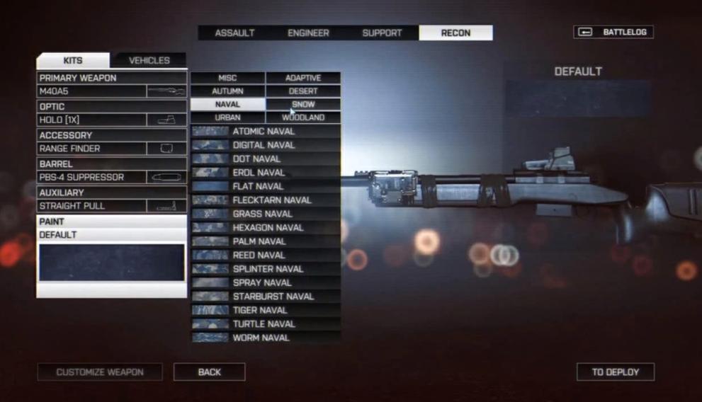 Камуфляж оружия в Battlefield 4. - Изображение 5