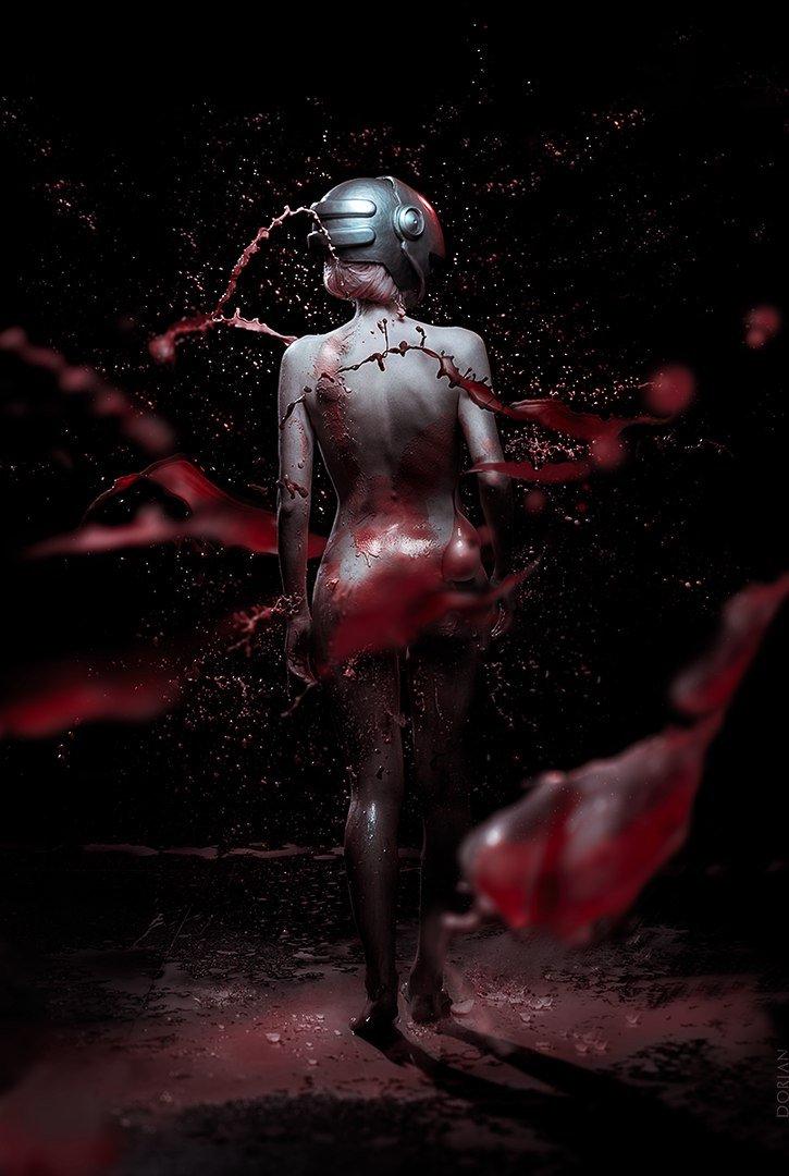 Фонтаны крови: косплей Люси из «Эльфийской песни» - Изображение 1