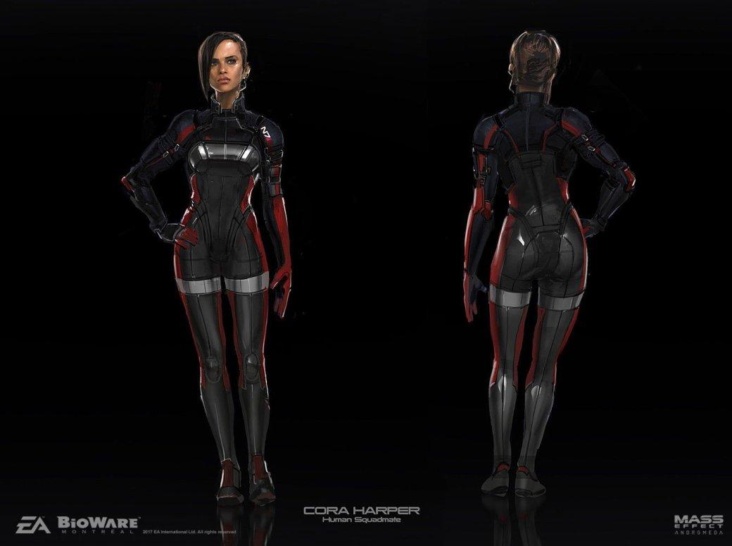 Художники BioWare показали ранние арты Mass Effect: Andromeda - Изображение 1