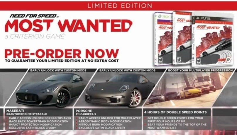 Need for Speed: Most Wanted возможно получит поддержку Kinect - Изображение 1