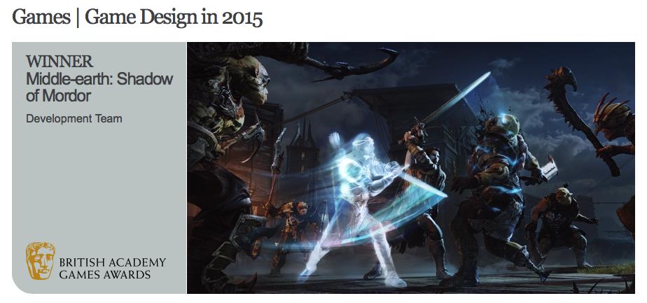 Премия BAFTA за лучшие игры прошлого года: победители и комментарии - Изображение 13