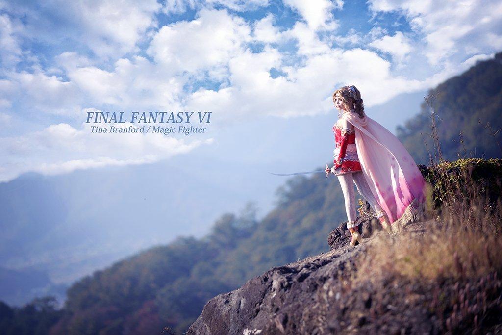 Качественный японский косплей героини Final Fantasy VI - Изображение 2
