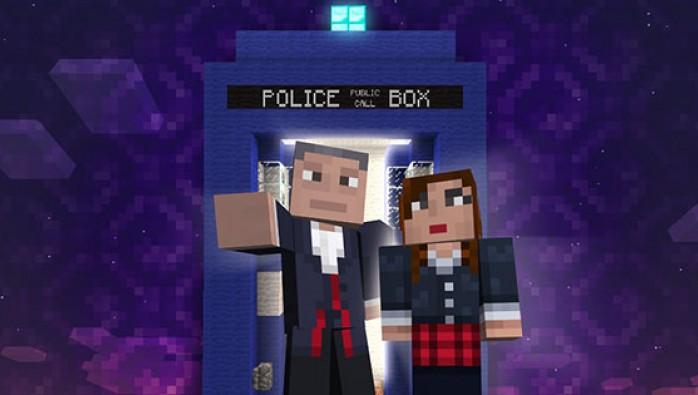 Доктор Кто прилетит в Minecraft для Xbox 360 - Изображение 1