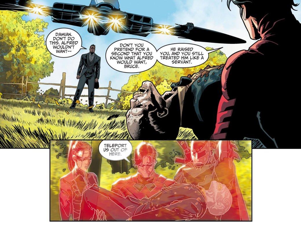 Сын Бэтмена вInjustice 2 решил воскресить Альфреда. - Изображение 1