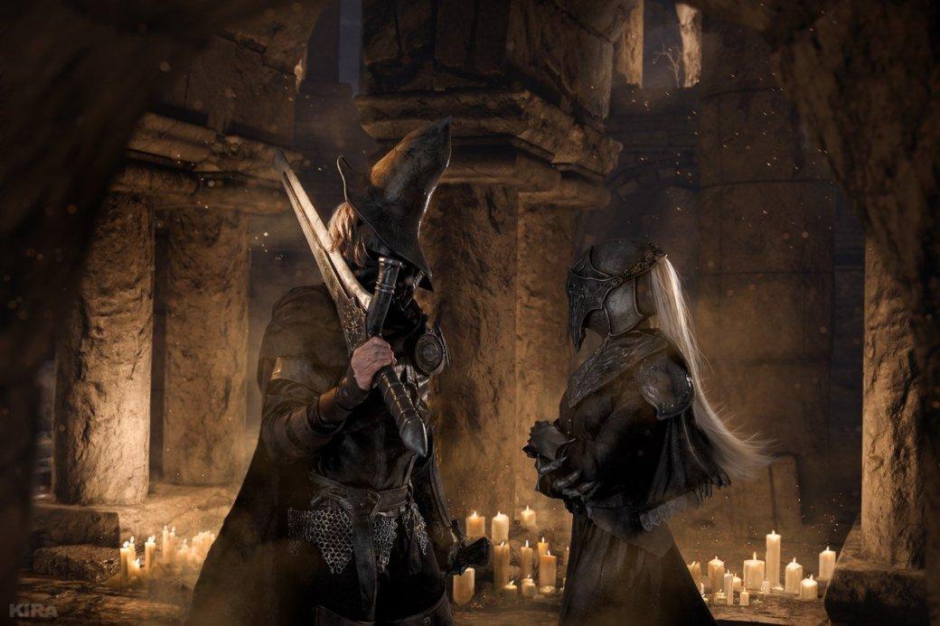 Косплей дня: Негорящий и Юрия из Лондора в Dark Souls 3. - Изображение 3