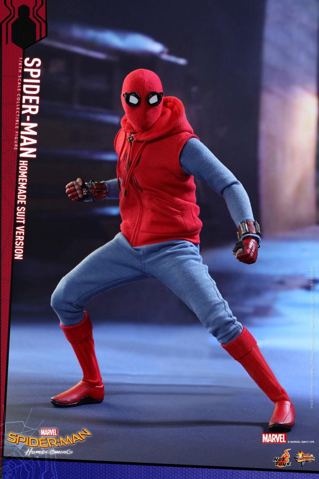 Самодельный костюм человека паука