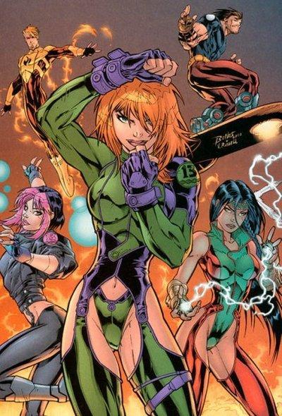 Девочки-припевочки, или весеннее обострение в комиксах - Изображение 8