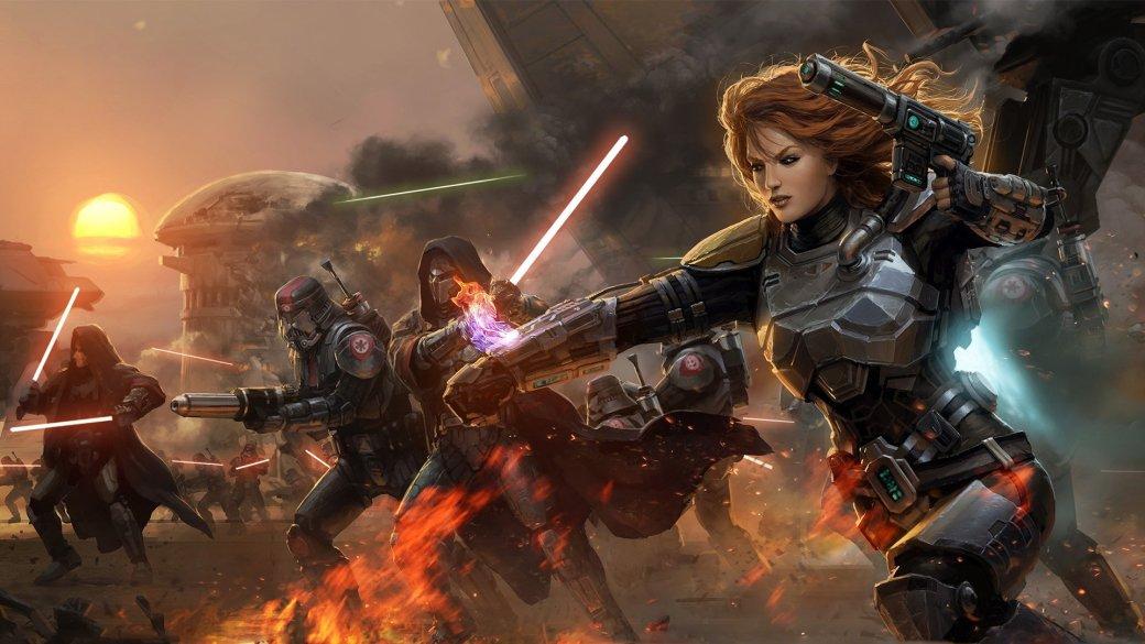 В Star Wars: The Old Republic поселилось 57 млн персонажей - Изображение 1