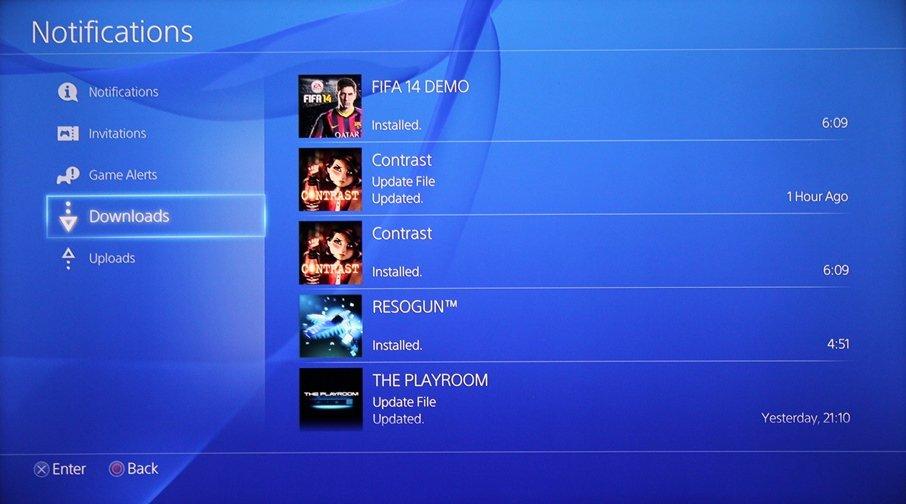 Интерфейс PlayStation 4 - Изображение 7