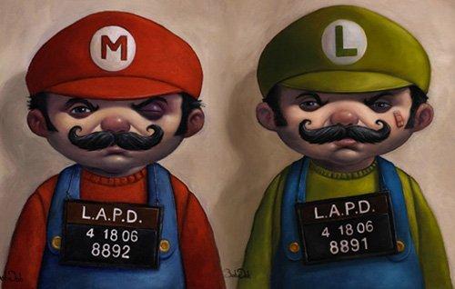 Полиция Владимира сняла социальную рекламу про Марио-скинхеда - Изображение 2