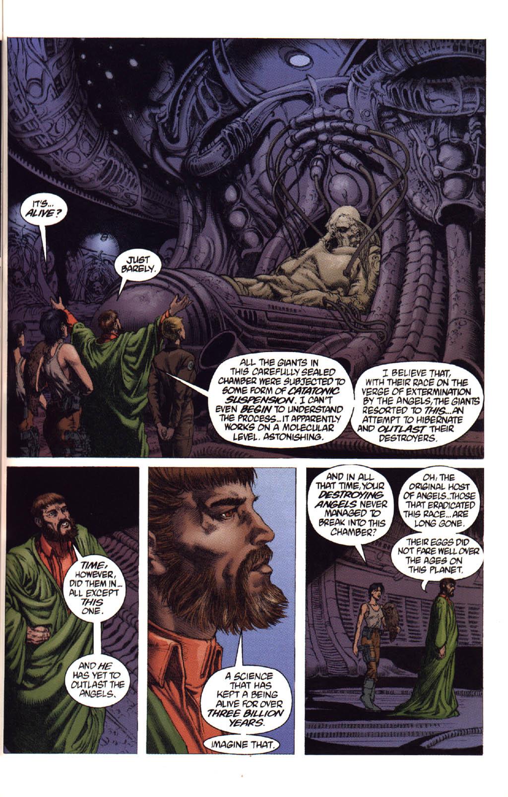 Жуткие комиксы про Чужих, откоторых кровь стынет вжилах. - Изображение 32