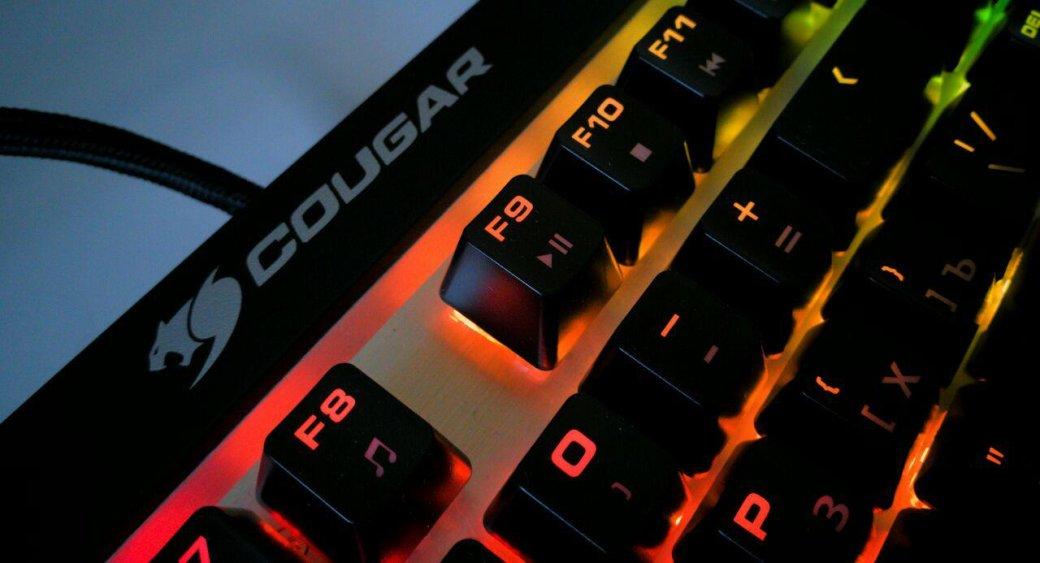 Клавиатура Cougar Attack X3 RGB— настоящие Cherry MXиничего лишнего. - Изображение 1