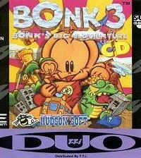 Bonk 3: Bonk's Big Adventure (Super CD) – фото обложки игры