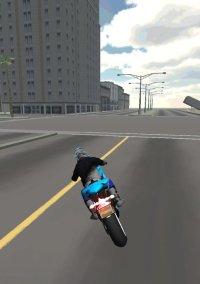 Motorbike Driving Simulator 3D – фото обложки игры