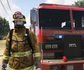 Гифка дня: бесстрашные пожарные Лос-Сантоса