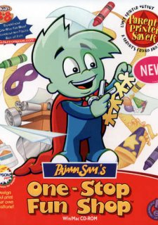 Pajama Sam's One Stop Fun Shop