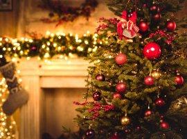 Нарождественской елке запустили классическую «Змейку»