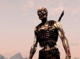 Гифка дня: драугр ушел вотрыв вThe Elder Scrolls 5: Skyrim