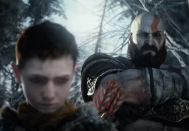 God of War (2018) . Рекламный ролик для PS4