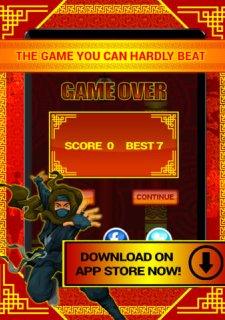 Ninja Tap Superhero Game PRO - Great City Adventure Flyer Game