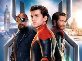 Спайди, Ник Фьюри, Мистерио иMJнановых постерах «Человека-паука: Вдали отдома»