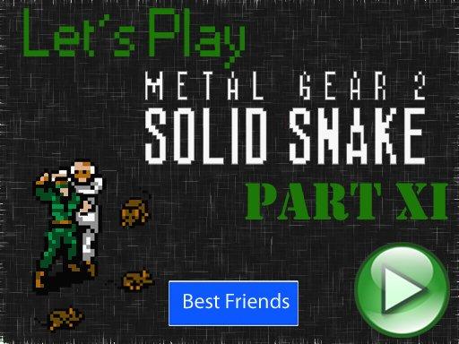 Lets Play Metal Gear 2. Часть 11