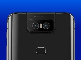 Asus ZenFone 6на официальных рендерах сдвойной откидной камерой