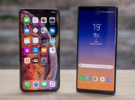 Это комбо: флагман Samsung Galaxy Note 10+ сфотографировали на iPhone XR 2019