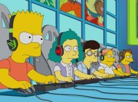 Вновой серии «Симпсонов» Барт станет киберспортсменом, аГомер будет его тренером