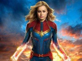 Появился кадр из «Мстителей: Эра Альтрона» с участием Капитана Марвел