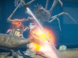 Гигантские крабы атакуют город и сражаются друг с другом в демо-ролике Fight Crab
