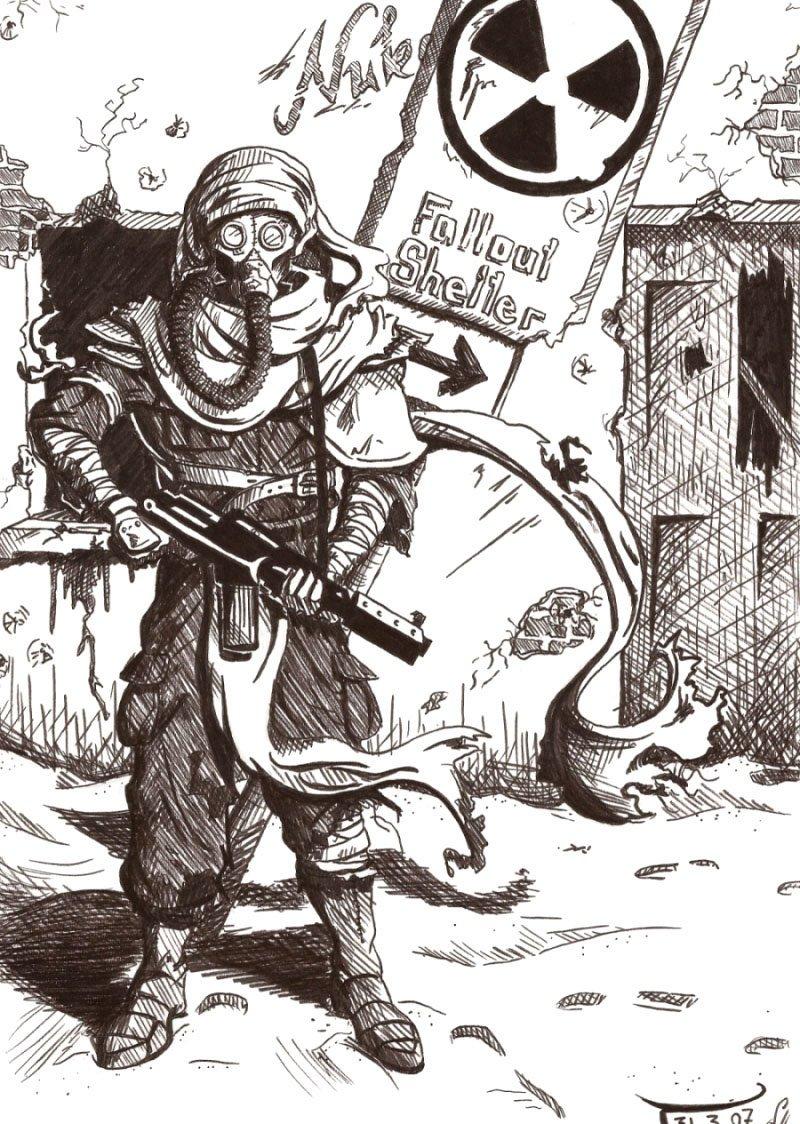 Лучший арт мира Fallout | Канобу - Изображение 84