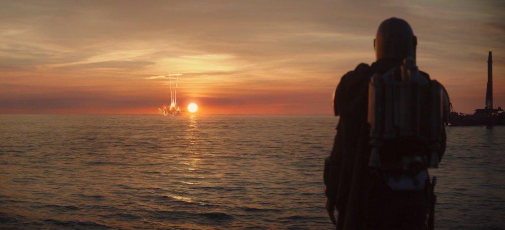 Рецензия на3 серию 2 сезона «Мандалорца»— морские дали, везение иочень много событий   Канобу