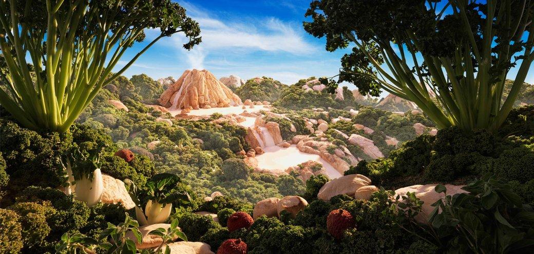 Фотограф создает сказочные пейзажи, используя только еду   Канобу - Изображение 13817